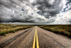 Storm Clouds Saskatchewan Stock Photos