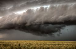 Storm Clouds Saskatchewan Royalty Free Stock Image