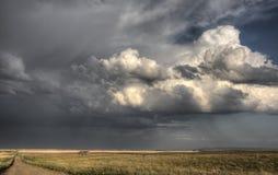 Storm Clouds Saskatchewan Royalty Free Stock Photos