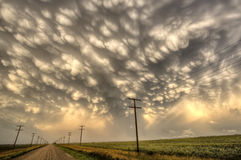 Storm Clouds Saskatchewan Royalty Free Stock Images
