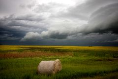 Storm Clouds Saskatchewan Royalty Free Stock Photo