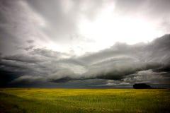 Storm Clouds Saskatchewan Stock Images
