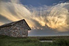 Storm Clouds Saskatchewan Stock Image