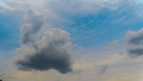 Storm clouds. In the sky at summer time royalty free stock images