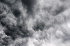 Storm clouds texture Stock Image
