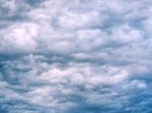 Storm clouds texture Royalty Free Stock Photos