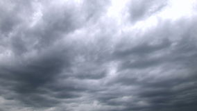 Storm Clouds Time Lapse stock video footage