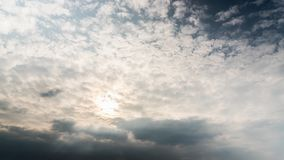 From storm clouds to blue sky, time-lapse. From storm clouds to blue sky, time lapse stock footage