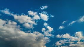 From storm clouds to blue sky, time-lapse. From storm clouds to blue sky, time lapse stock video footage