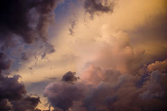 Storm Clouds1. A storm building in Florida Royalty Free Stock Photo