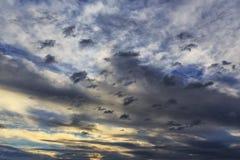 Storm cloudscape Stock Images