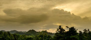 Storm Cloudy Sky Before Raining Royalty Free Stock Images