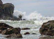 Storm at the coast Royalty Free Stock Photo