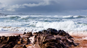 Storm on the coast of South Australia Royalty Free Stock Photography