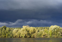 Storm is coming Stock Photography