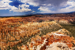 Storm Coming Amphitheater Bryce Point Bryce Canyon National Park Stock Images