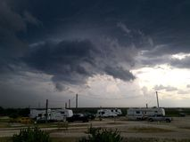 Storm Coming Royalty Free Stock Photos