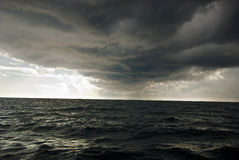 The storm is coming from overseas. Stock Image
