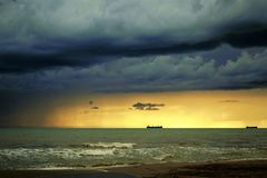 the storm is coming Royalty Free Stock Images