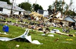 Storm damage Stock Image