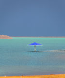 Storm on the Dead Sea. Stock Photos