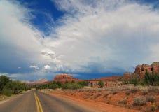 storm desert Royalty Free Stock Photos