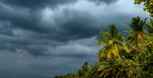 Before the storm, Dominican Republic Royalty Free Stock Photo