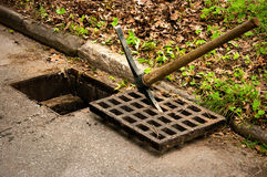 Storm Drain Cleaning Stock Photography