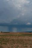 Storm cloud Spain plain rain Stock Image