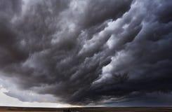 storm för inställningshöstfält Royaltyfri Fotografi