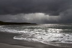 Storm on Falkland Islands Stock Photo