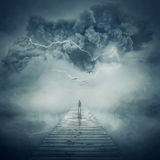 Into the storm Royalty Free Stock Photos