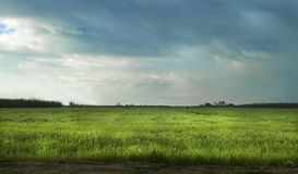 Storm on the Farm Royalty Free Stock Photography