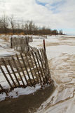 Storm fence Stock Photography