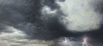 Storm in Florida Royalty Free Stock Photography