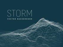 storm Fond de vecteur illustration libre de droits