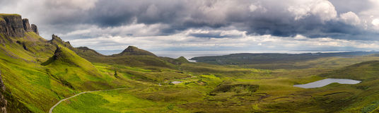 Storm gathers over the Scotish Highlands Stock Photography
