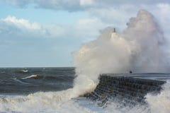 Storm Gertrude Royaltyfri Fotografi