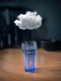 Storm in a glass of water Stock Images