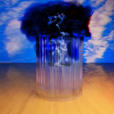 Storm in a glass Royalty Free Stock Image