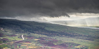 Storm on golan Royalty Free Stock Photo