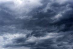 Storm. Grey Cloud Stock Image