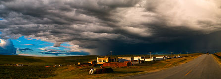 Storm On The Horizon Stock Photo