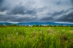 Storm i Europa Royaltyfria Bilder