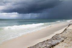 Storm i paradis Royaltyfria Foton
