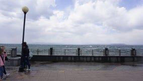 Storm i sporthamnen Royaltyfria Bilder
