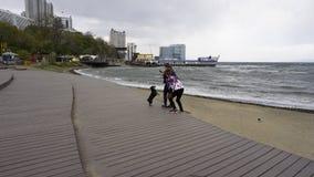 Storm i sporthamnen Royaltyfria Foton