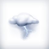 Storm, icon Royalty Free Stock Photography
