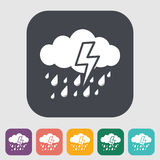 Storm icon Stock Image