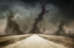 Into the storm Royalty Free Stock Image